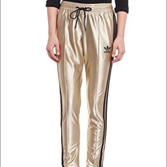 RARE New Adidas Star Track Pants Women s Size L ab5da0003bf22